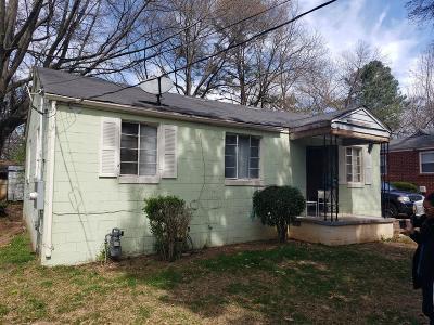 Atlanta Single Family Home For Sale: 2511 Godfrey Drive NW