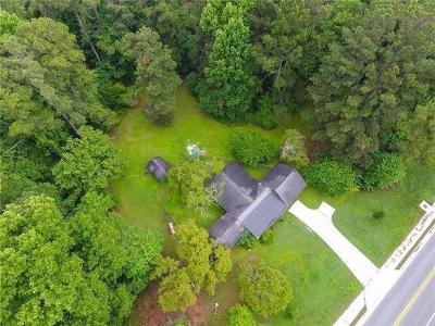 Single Family Home For Sale: 910 John Ward Road SW