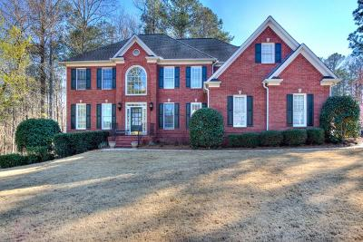 Kennesaw Single Family Home For Sale: 1608 Mansfield Cove