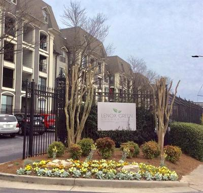 Atlanta Condo/Townhouse For Sale: 2657 NE Lenox Road NE #13