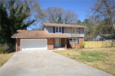 Single Family Home For Sale: 3360 Old Lost Mountain Road
