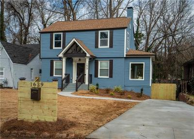 Atlanta Single Family Home For Sale: 1639 Emerald Avenue SW