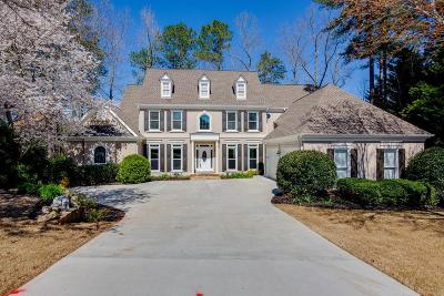 Marietta Single Family Home For Sale: 2279 Edgemere Lake Circle