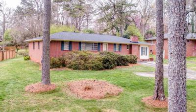 Marietta Single Family Home For Sale: 653 McBurnette Road NE