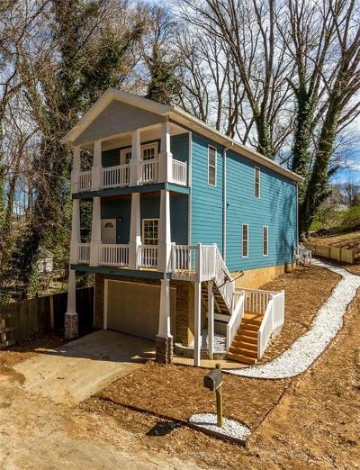 Atlanta Single Family Home For Sale: 1929 Ford Street NW