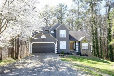 Powder Springs Single Family Home For Sale: 3386 Knighton Ridge