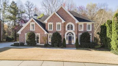 Alpharetta Single Family Home For Sale: 4435 Park Brooke Trace