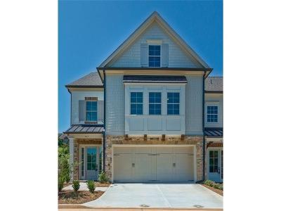 Cobb County Condo/Townhouse For Sale: 461 NW Springer Bend