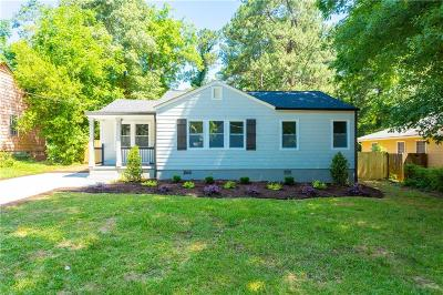 Decatur Single Family Home For Sale: 3426 Glen Road