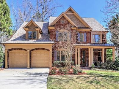 Roswell Single Family Home For Sale: 190 Lullwater Court