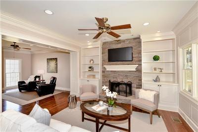 Sandy Springs Single Family Home For Sale: 295 Mark Trail
