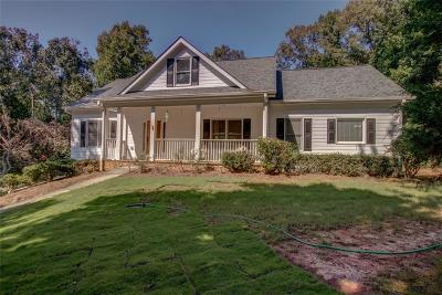 Dawsonville Single Family Home For Sale: 156 Walnut Cove