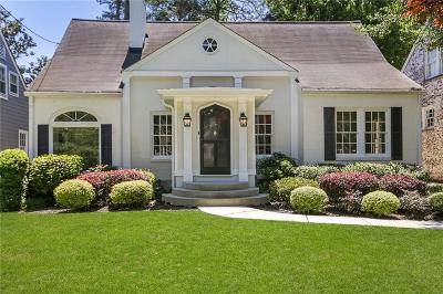 Atlanta Single Family Home For Sale: 2913 N Hills Drive NE