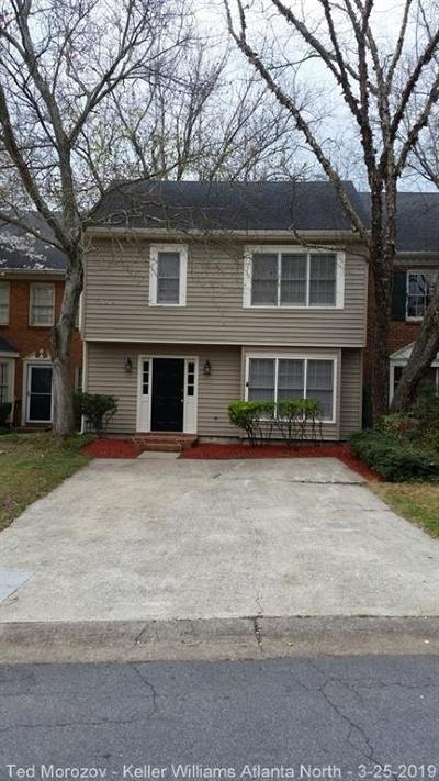 Marietta Condo/Townhouse For Sale: 598 Salem Woods Drive SE