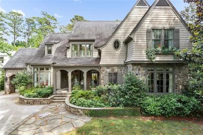 Atlanta Single Family Home For Sale: 3303 Habersham Road NW