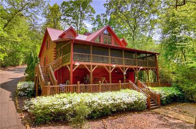Ellijay Single Family Home For Sale: 140 Riverwood Lane