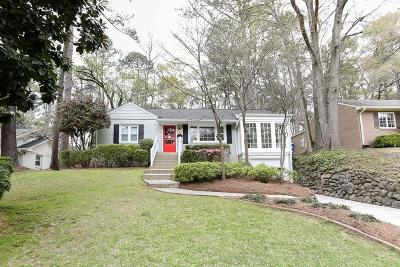 Peachtree Park Single Family Home For Sale: 700 Darlington Circle