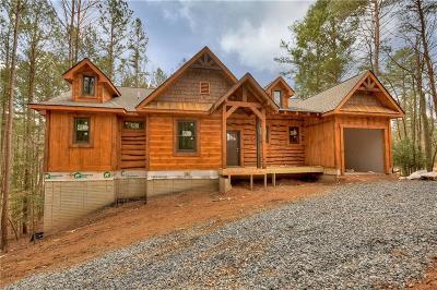 Ellijay Single Family Home For Sale: LT104 Buckhorn Estates