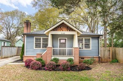 Kirkwood Single Family Home For Sale: 2162 Oakview Road SE