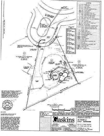 Marietta Residential Lots & Land For Sale: 924 Saint Lyonn Courts