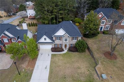 Lilburn Single Family Home For Sale: 4539 Hales Trace Lane SW
