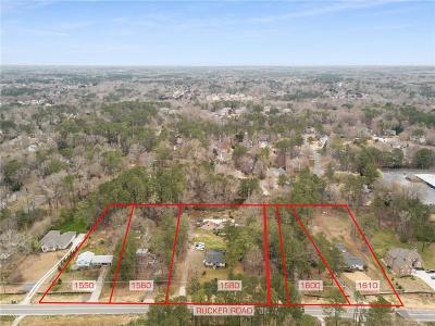 Alpharetta Residential Lots & Land For Sale: 1580 Rucker Road