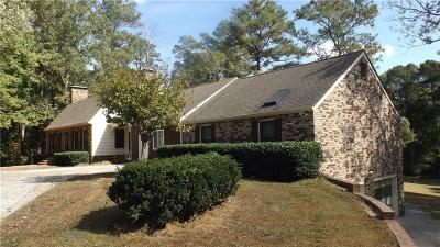 Loganville Single Family Home For Sale: 6008 Center Hill Church Road