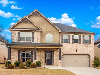 Dacula Single Family Home For Sale: 2460 Tack Hill Court