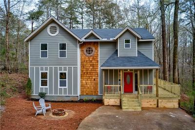 Dawsonville Single Family Home For Sale: 74 Lake Valley Court