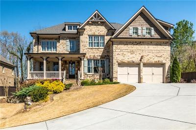 Dunwoody Single Family Home For Sale: 5309 Happy Hollow Road