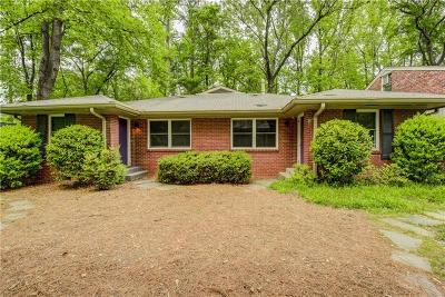 Peachtree Hills Single Family Home For Sale: 141 Lindbergh Drive NE