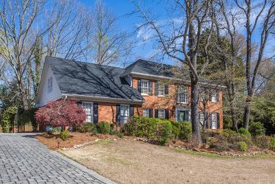 Peachtree Corners, Norcross Single Family Home For Sale: 3776 Winters Hill Drive