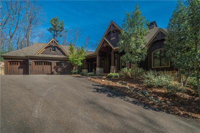 Big Canoe Single Family Home For Sale: 1397 Black Bear Trail