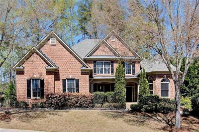 Kennesaw Single Family Home For Sale: 4842 Wildrose Court NW