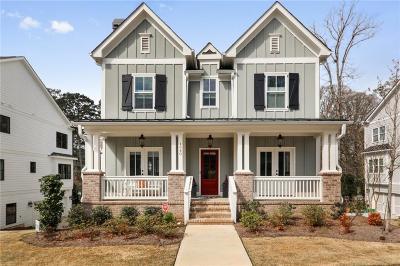 Brookhaven Single Family Home For Sale: 1940 Park Chase Lane NE