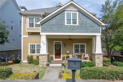 Peachtree Corners, Norcross Single Family Home For Sale: 290 West Peachtree Street NE