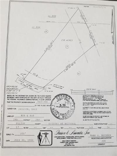 Milton Residential Lots & Land For Sale: 13925 Atlanta National Drive