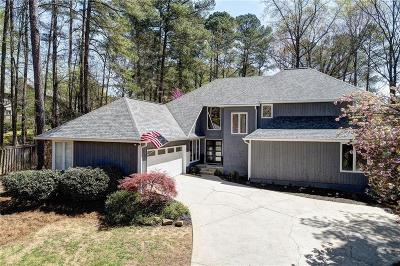 Roswell Single Family Home For Sale: 10045 Bankside Drive