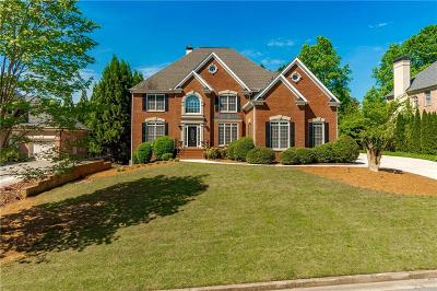 Kennesaw Single Family Home For Sale: 1049 Ector Chase NW