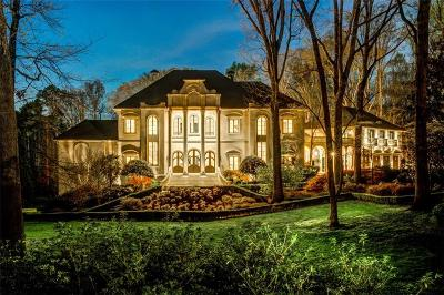 Atlanta GA Single Family Home For Sale: $6,500,000