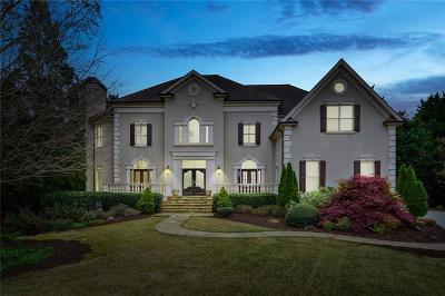 Johns Creek Single Family Home For Sale: 1010 Bay Tree Drive