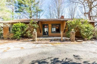 Rabun County Single Family Home For Sale: 66 Demorest Lane