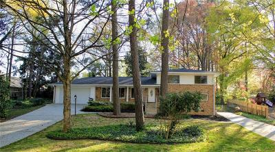 Smyrna Single Family Home For Sale: 4385 Laurel Circle
