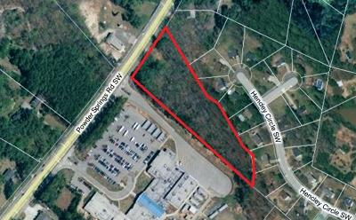 Marietta Residential Lots & Land For Sale: 1999 Powder Springs Road SW