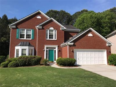 Peachtree Corners Single Family Home For Sale: 4645 Pomarine Circle