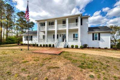 Single Family Home For Sale: 1460 Old Alabama Road