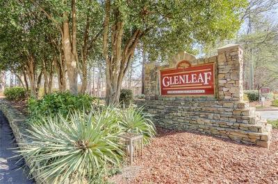 Peachtree Corners Condo/Townhouse For Sale: 1104 Glenleaf Drive