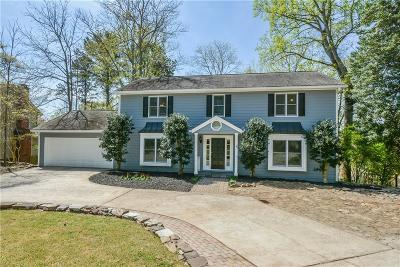 Marietta Single Family Home For Sale: 4080 Summit Drive