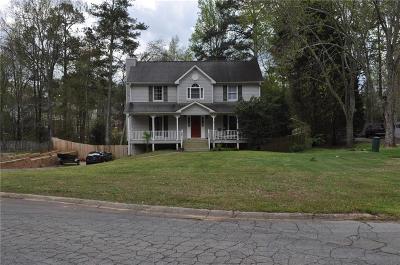 Powder Springs Single Family Home For Sale: 5887 Pavillion Drive