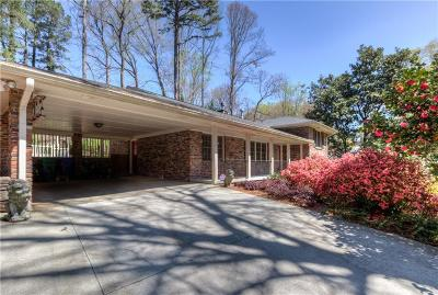 Brookhaven Single Family Home For Sale: 1722 Wilmont Drive NE